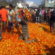 Farmers dumped, destroyed tomatos in Jharkhand
