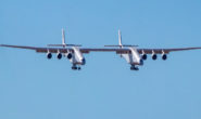 World's largest airplane, takes flight