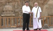 PM Modi warmly welcome to Chinese Prez in  Mahabalipuram for Informal Summit