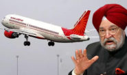 Govt. to sell 100 % stake in Air India: Puri