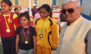 Little village girl wins 'Gold' in District Archery Competition