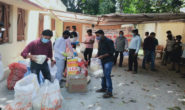 PowerGrid Namkum distributes food materials among needy