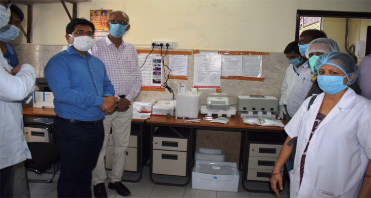 Sadar Hospital Bokaro starts using Truenat machine for COVID-19 test