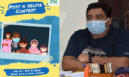 'Selfie with a Mask', dist. admin. organises contest to develop habit among people
