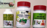 """""""Coronil"""" gets green signal; Ayush Ministry calls it a Covid-19 management drug"""