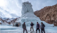 Ice-Stupas: An Innovative design in water management for eco-rehabilitation of tribals in Ladakh villages