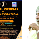 National webinar on Enriching Volleyball kicks-off