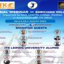 National Webinar on Enriching Volleyball to be held on 22-23 August