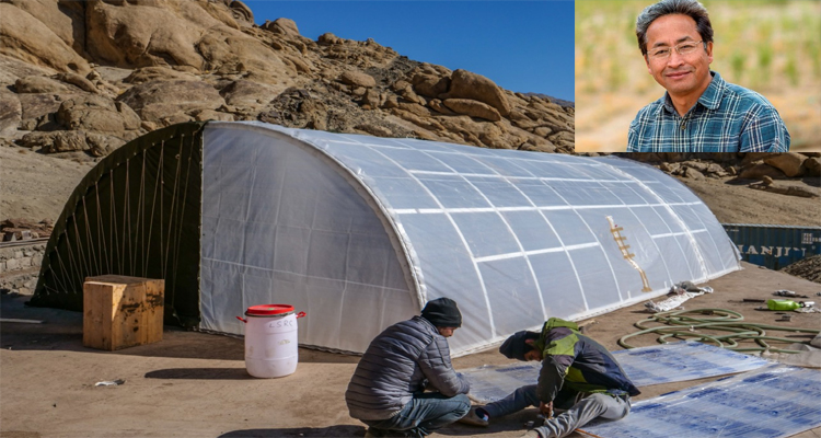 Solar-powered tent to protect Indian Army under sub-zero temperatures