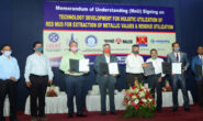 CSIR signs MoU with Aluminium industries on use of red mud and residue