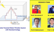 IIT-ISM at work to develop a Solar-powered water filtration system with nanomaterials